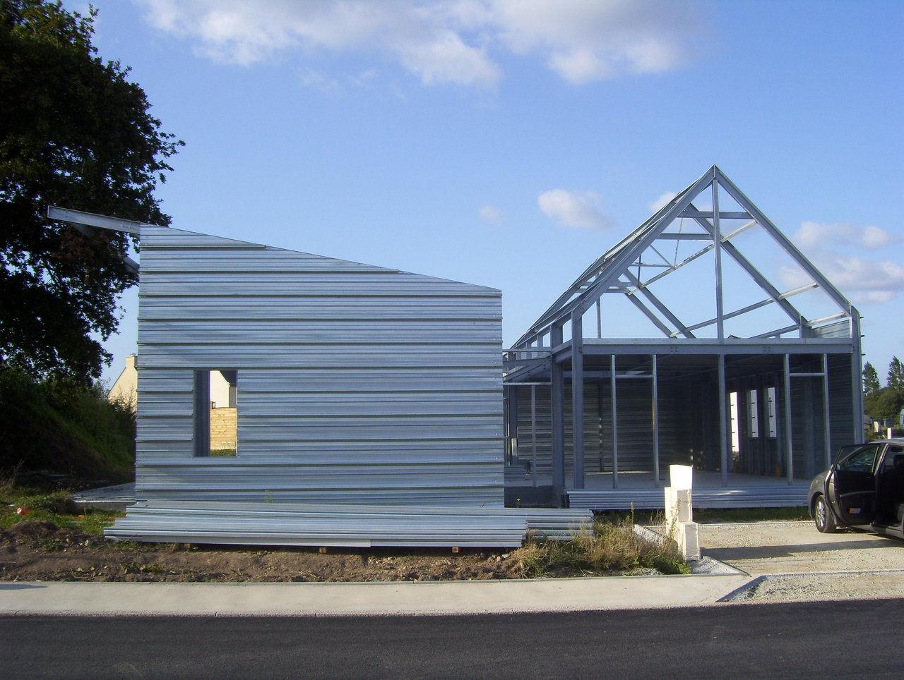 Hometal bureau d etude maison structure metallique - Bureau d etude construction metallique ...