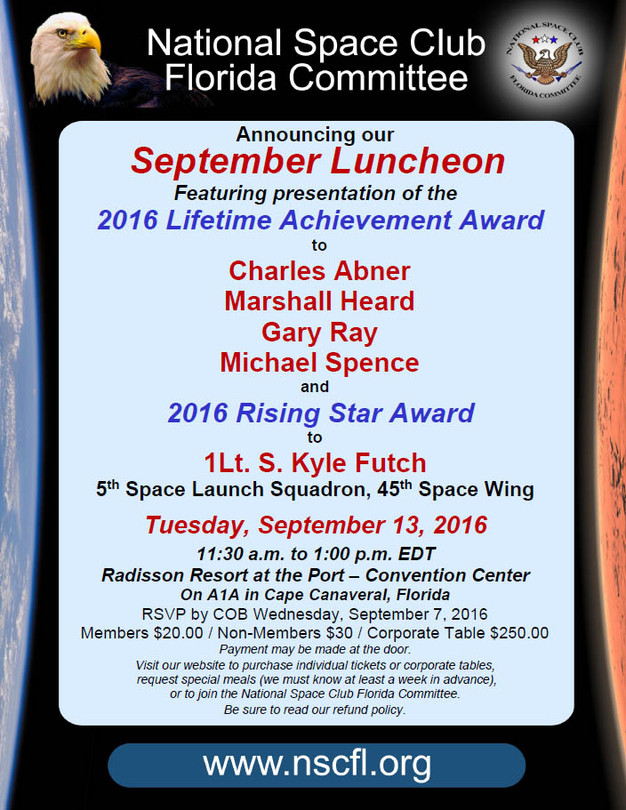September Luncheon Invite | nscfl