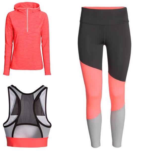 mes looks pr f r s de la nouvelle collection sport femme h m work for it blog sport fitness. Black Bedroom Furniture Sets. Home Design Ideas