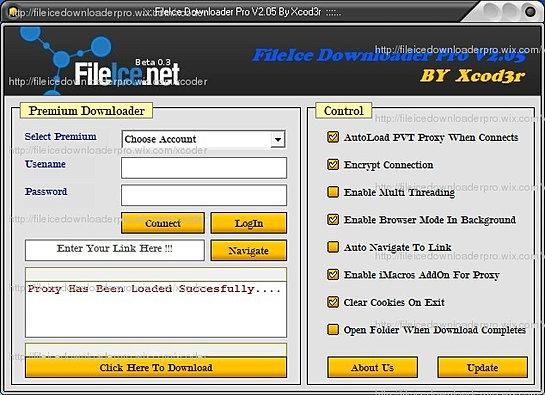 fileice downloader 2013