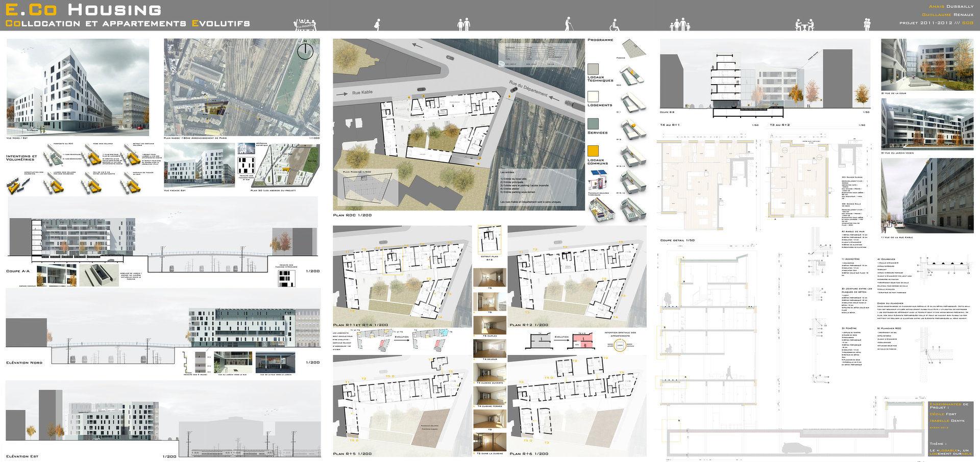 Guillaume renaux p o r t f o l i o for P o style architecture