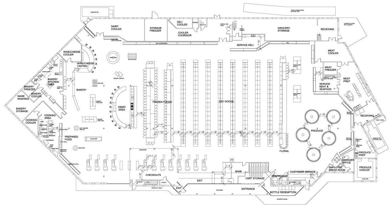 small convenience store floor plan ahomeplan com