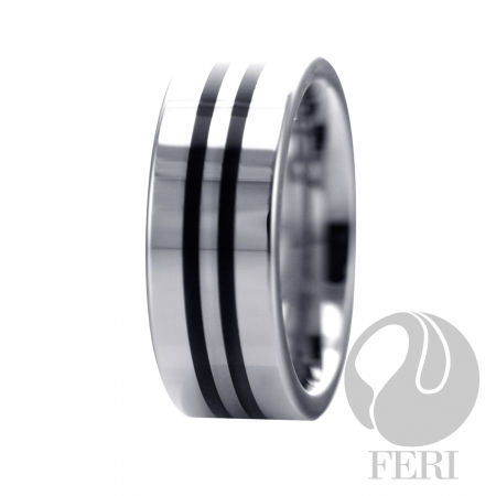 8mm Tungsten Ring - US$ 177