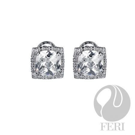 Brilliant CZ Earrings - US$ 330