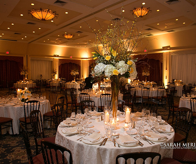 Tarrytown Manor House: Forever In Bloom Wedding Centerpieces