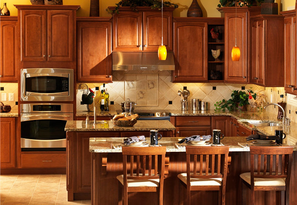Painting wood floors your home only better home design idea - Michigan kitchen cabinets novi mi ...