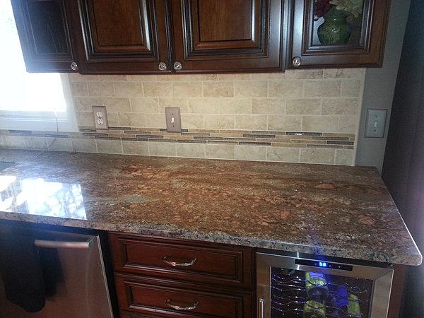 Tile kitchen back splashes novi - Michigan kitchen cabinets novi mi ...