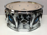 14x7 Maple shell.  Wrap designed by Jay Stowell of Maplewood Design.