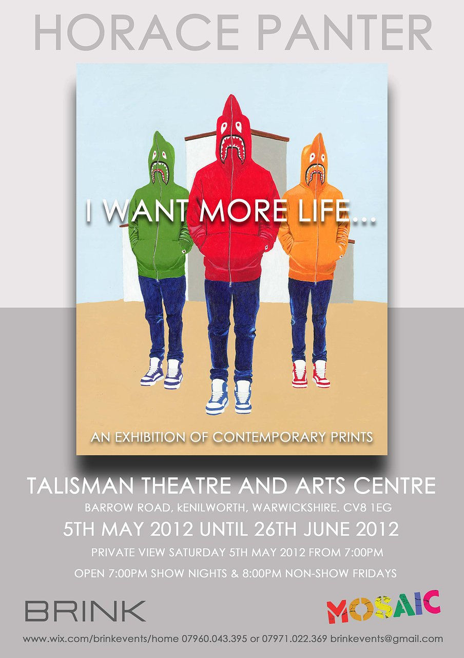 'I Want More Life...' flyer