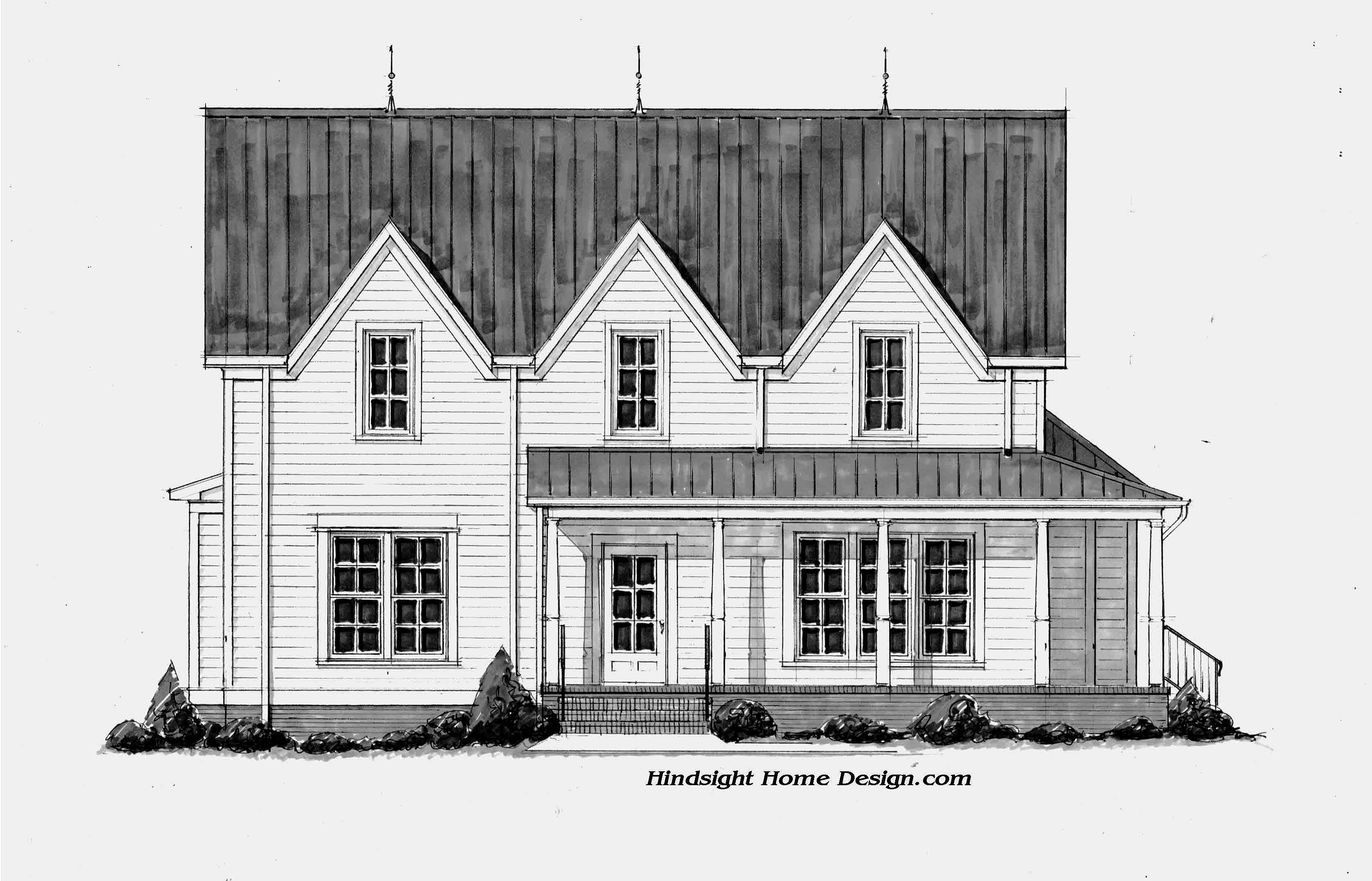 Hindsight home design llc nashville house plans for Nashville tn house plans
