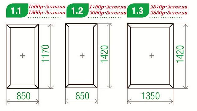 Готовые пластиковые окна ПВХ   Окна ПВХ со склада