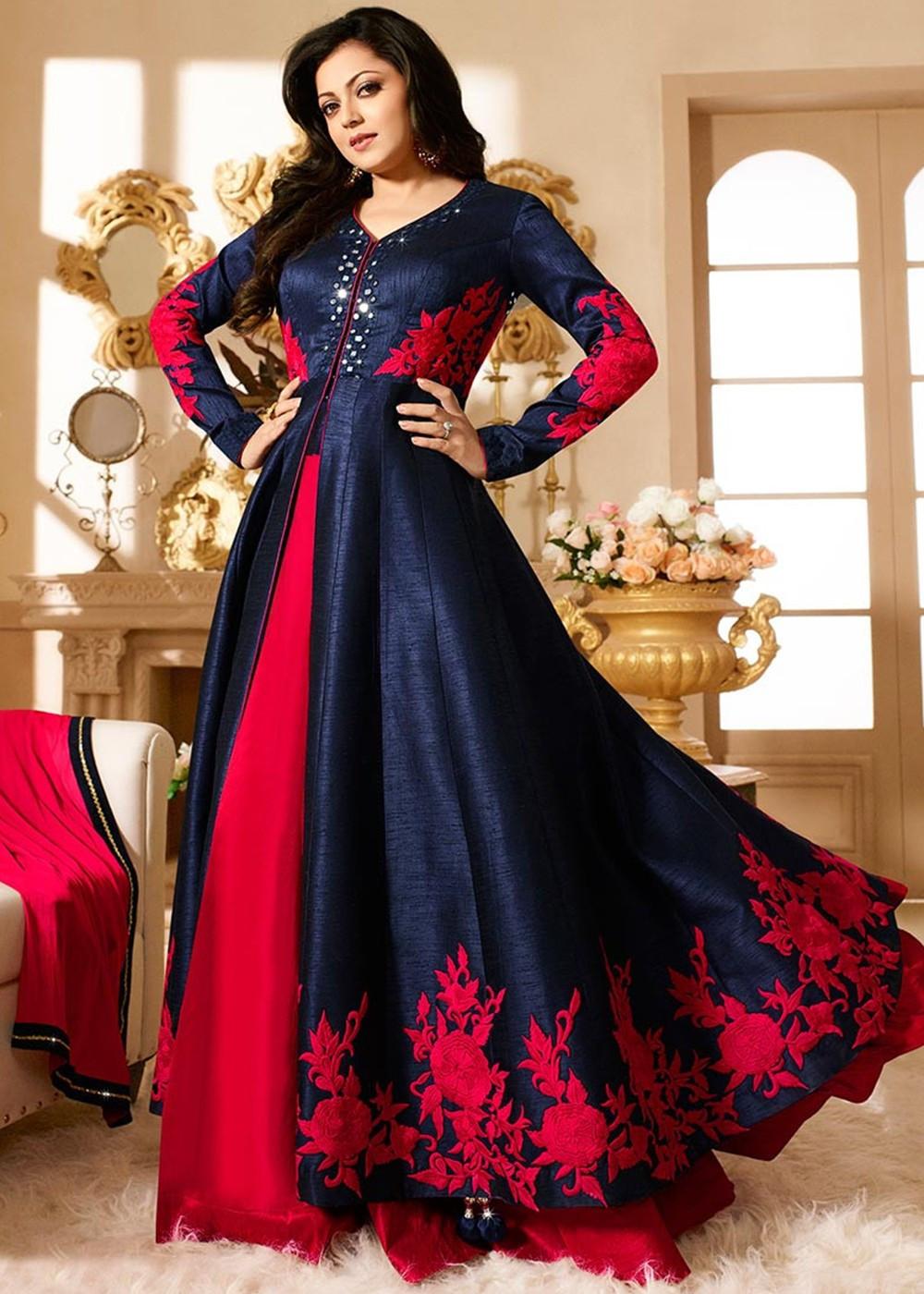 Latest Ethnicroop Designer Indian Anarkali Dress   Salwar Suit Design