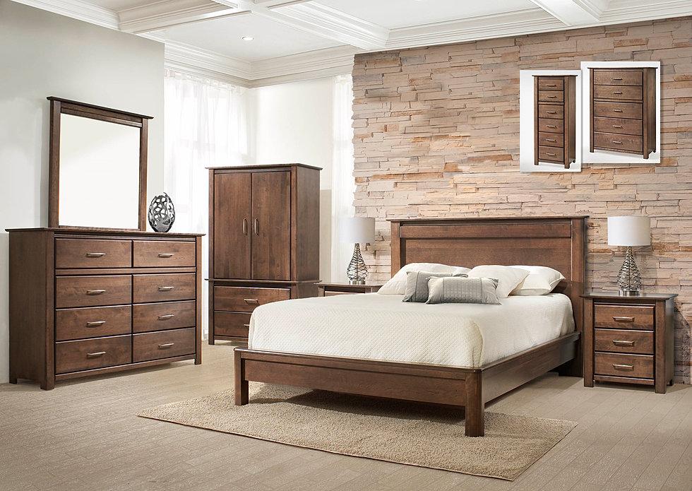 Magasin de meubles rousseau lambton chambre coucher for Magasin de meuble de chambre