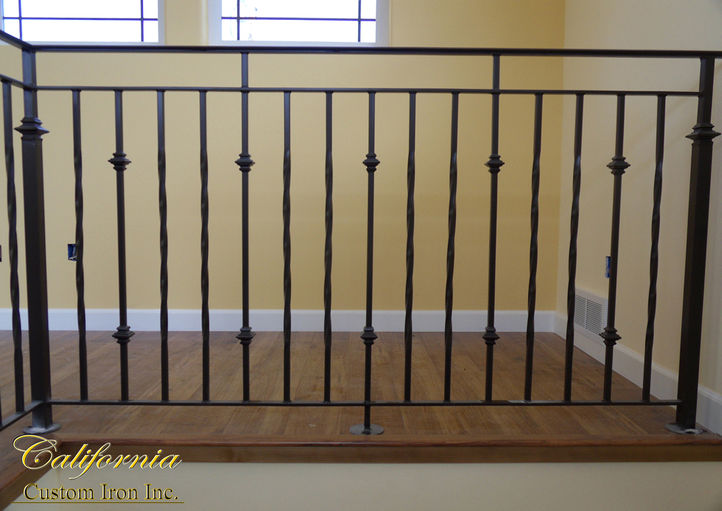 Decorative Steel Rails