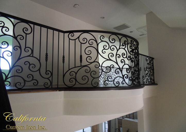 Forged Iron Railing