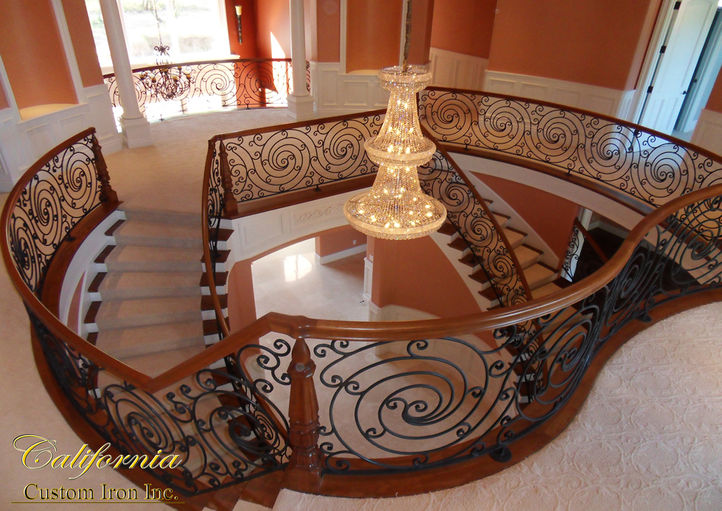 California Circular Stairs