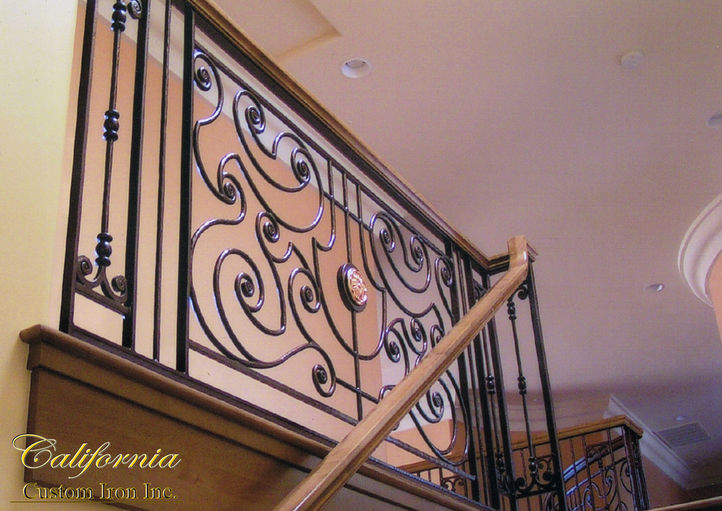 Wrought Iron Railing California