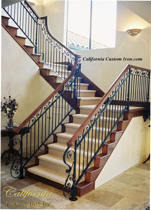 Custom Iron Railing San Jose CA