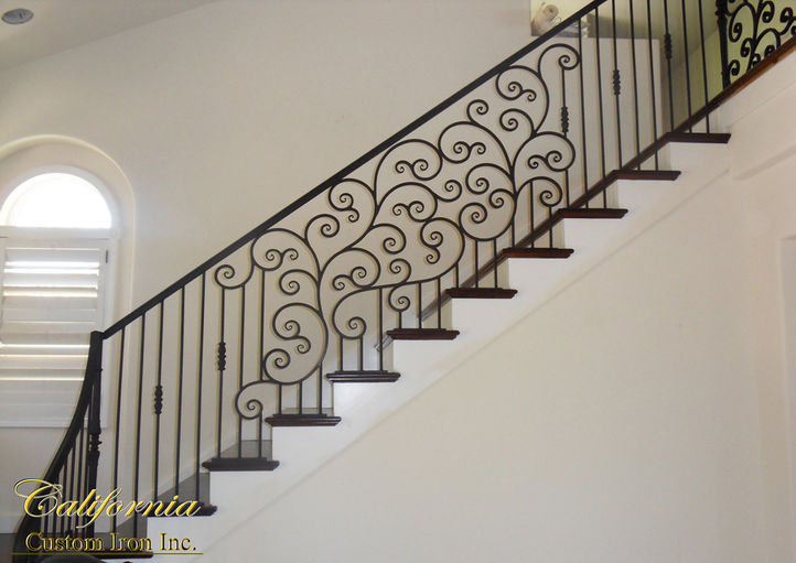 Iron Railing Designs California