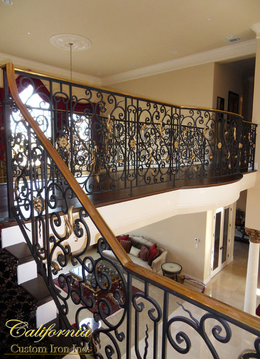 Architecural Iron Railing