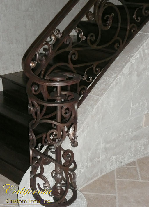 Custom Grand Staircase in California