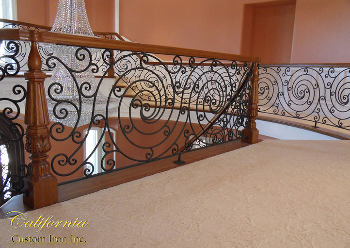 Custom Iron Stairs
