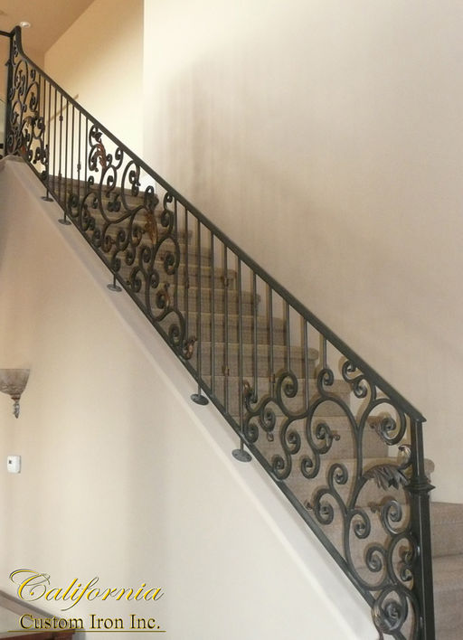 Custom Iron Railing in Milpitas CA