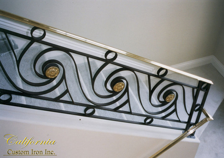 Brass Railing in California