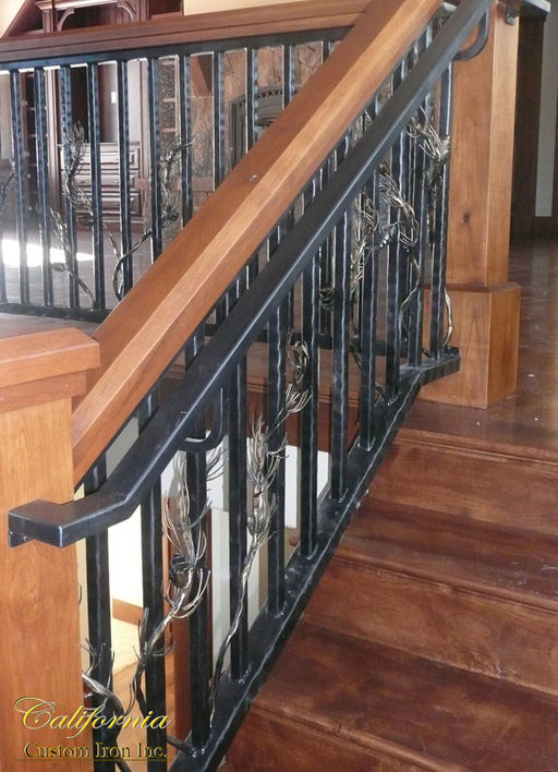 Truckee Ca Custom Iron Railing