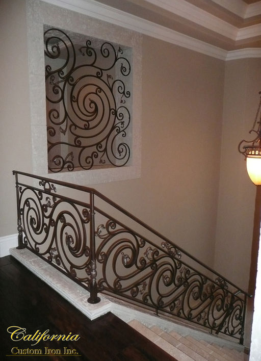 Circle Design Iron Railing