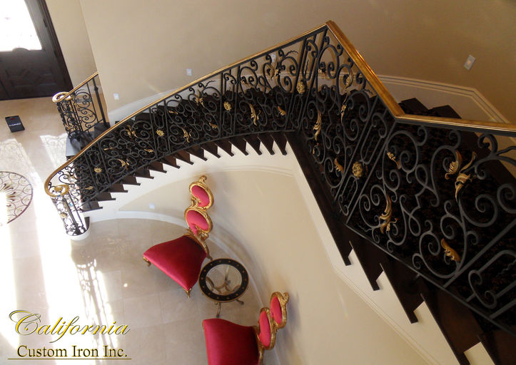 Curved Stair Pleasanton CA