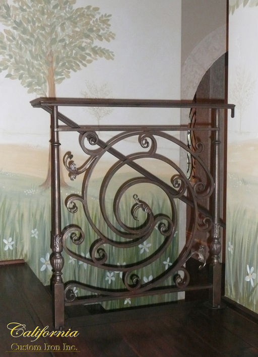 Hand Forged Iron Rails