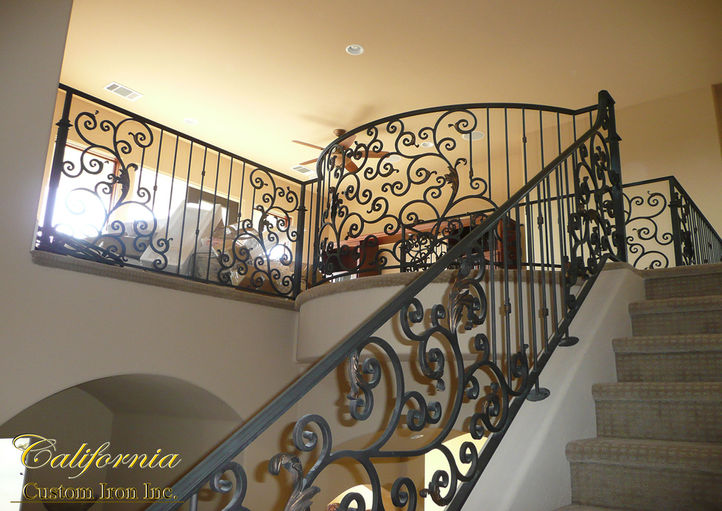 Architectual Iron Railing