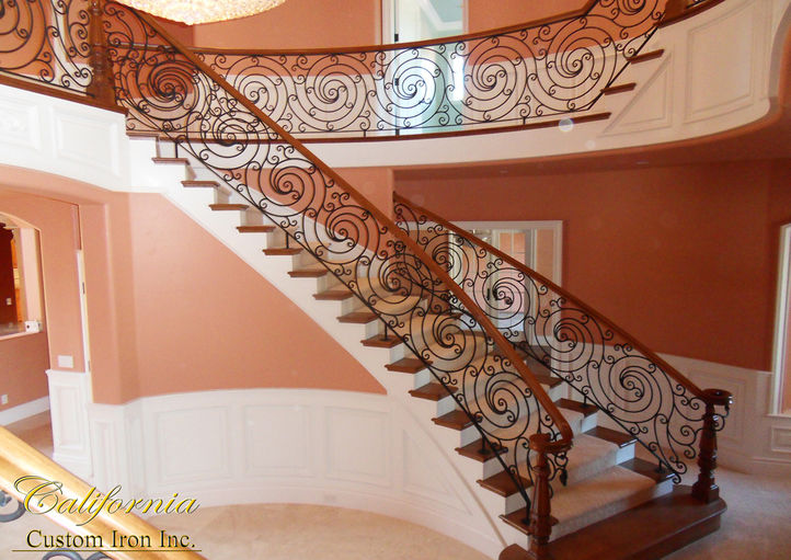 Iron Grand Staircases