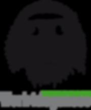 Logo zwart Work4dogsnose.png