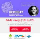 Icone do Demoday, mostrando a data 04 de Março