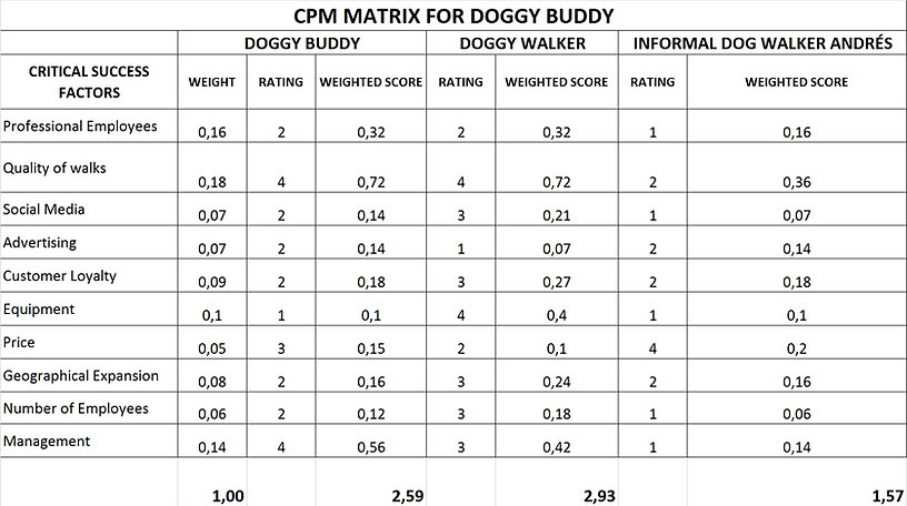 Nice Competitive Profile Matrix Template Ideas - Professional Resume ...