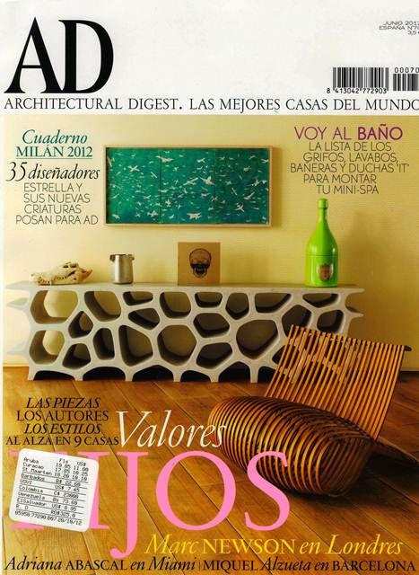 ad junio 2012 n70 - Revistas De Diseo De Interiores