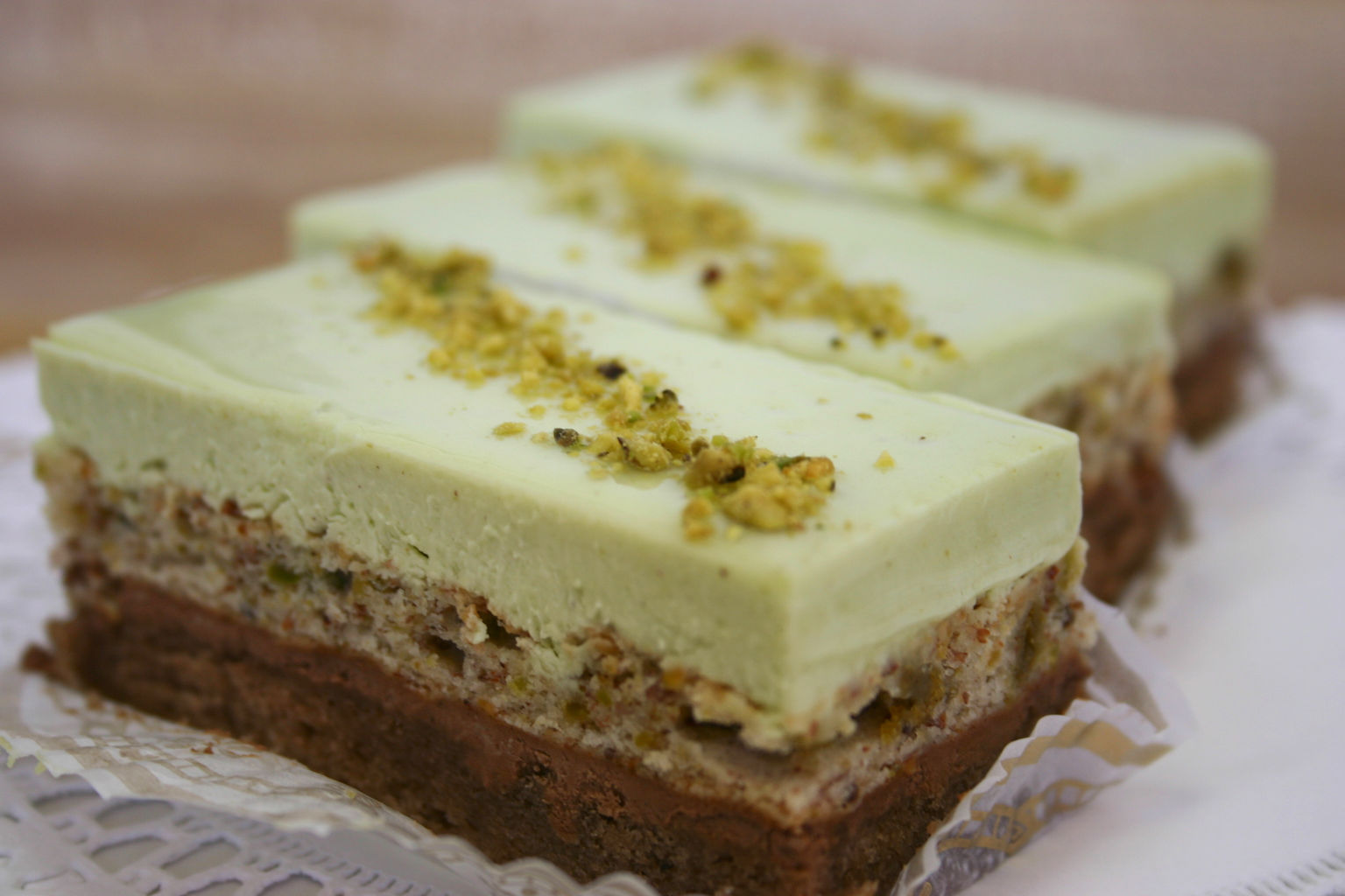 Coconut Pistachio Mousse Recipe — Dishmaps