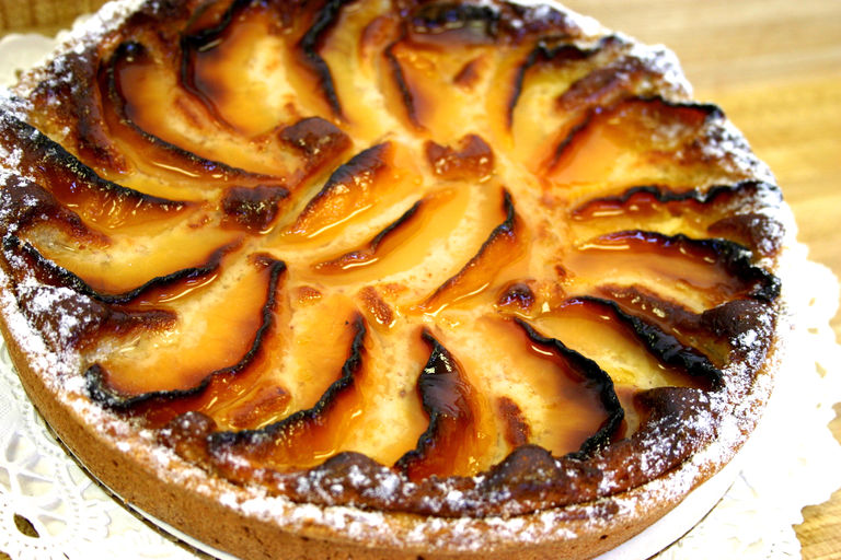 peach tart we have many tarts available the assortment includes plum ...