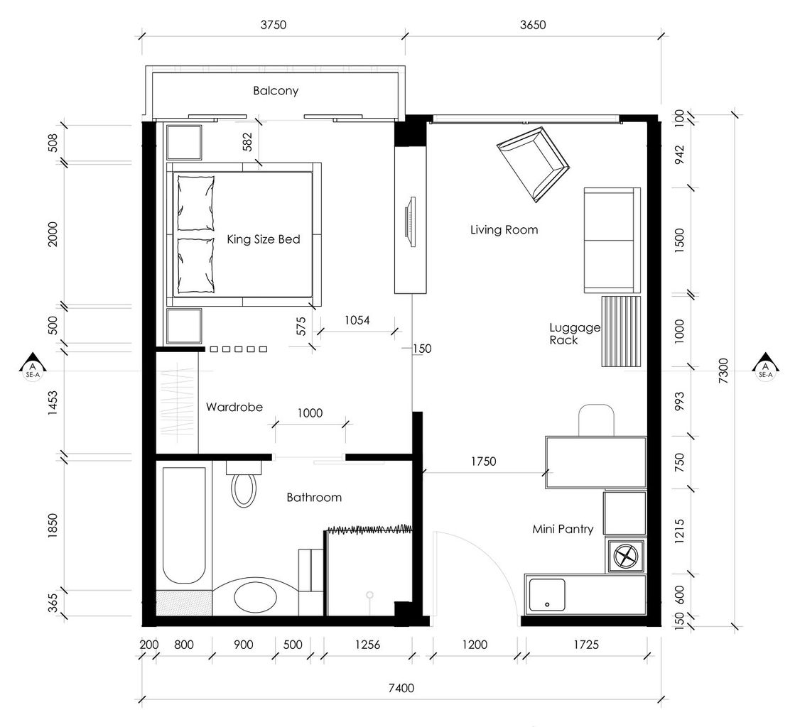 Hotel room layout design home design for Room remodel program