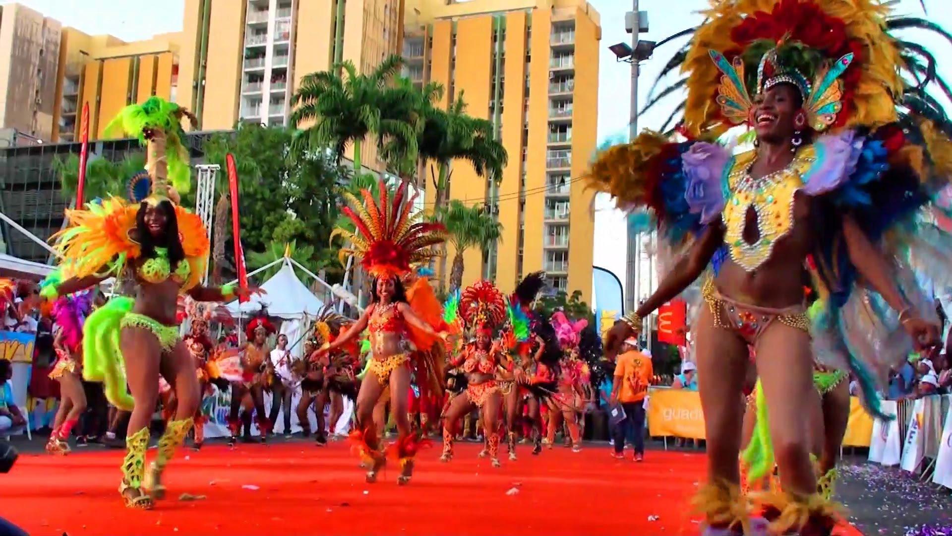 les differents groupes de carnaval en guadeloupe