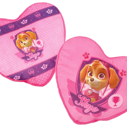 Paw Patrol Skye Heart Pillows