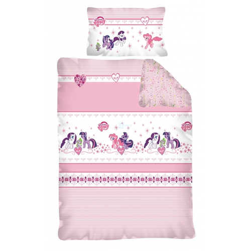MY LITTLE PONY BEDDING SET COT BED/JUNIOR