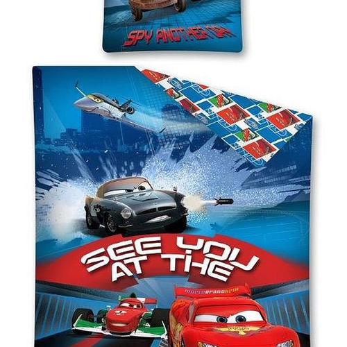 "DISNEY PIXAR ""CARS"" SINGLE BEDDING SET"