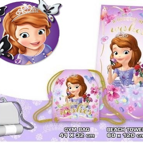 DISNEY SOFIA THE FIRST TOWEL