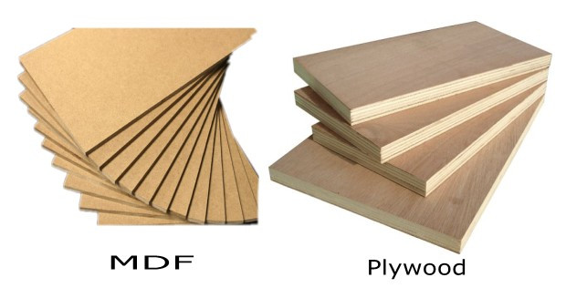 mdf medium density fibreboard is an engineered material made by breaking down hardwood or softwood residuals into fine particles combining it with wax - Mdf Vs Plywood For Kitchen Cabinets