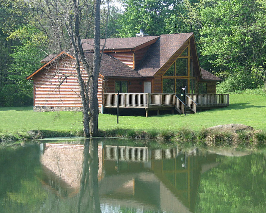 Pittsburgh Log Home Plans Allegheny