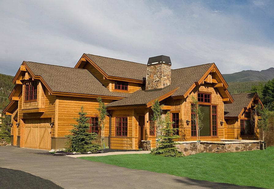 Pittsburgh Log Home Plans Sedona