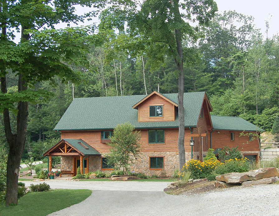 Pittsburgh Log Home Plans South Fork